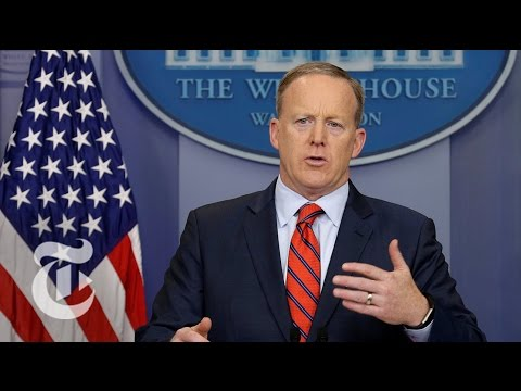 Sean Spicer: Hitler 'Didn't Even Sink To Using Chemical Weapons' | The New York Times