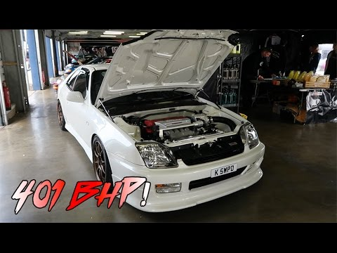 401 Bhp Supercharged K20a Swapped Honda Prelude Bb6 By