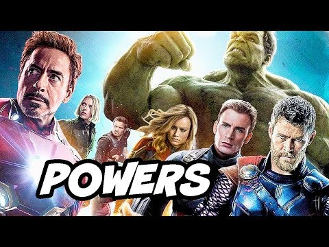 Captain Marvel vs Avengers Special Powers and Abilities Breakdown