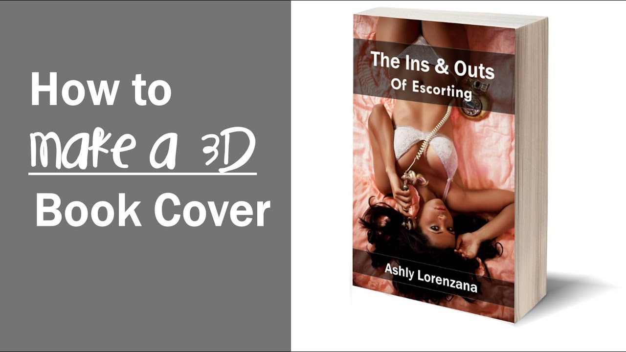 How To Make A Book Cover Using Gimp : How to make a d book cover using gimp youtube