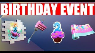 Fortnite Birthday Challenges Season 9 Leaked All Birthday Challenges & Rewards (2019)
