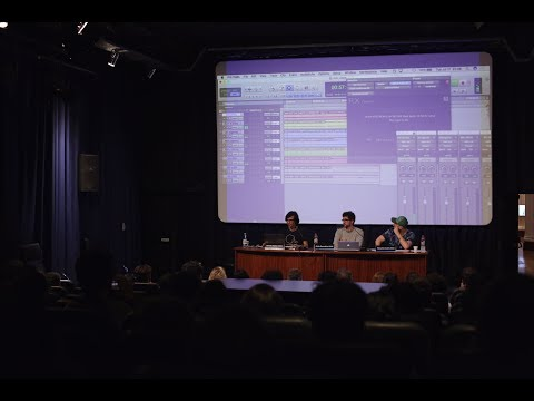 """Festival ENERC SE PROYECTA '18 - Charla """"El Diseño Sonoro En Zama"""""""