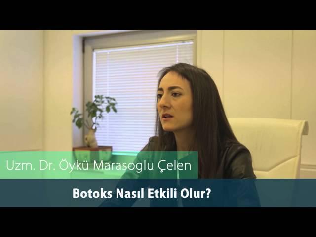 Dr.Öykü Maraşoğlu Çelen - Botoks Nasıl Etkili Olur ?