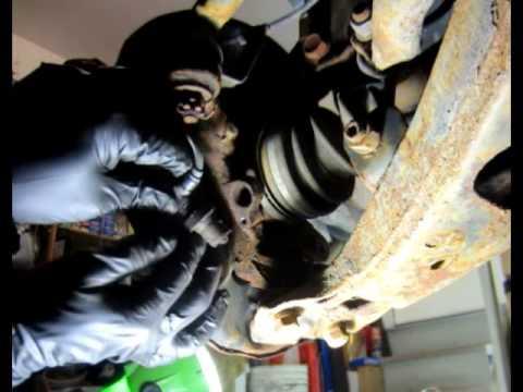 How to remove Front Brake ABS SensorToyota Rav4 1996 1997 1998 1999 2000 2001 2002 2003 2004 2005
