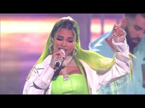 """Natti Natasha x Nio Garcia x Brray - Phillicieto """"En Vivo"""" (Premios Juventud)"""