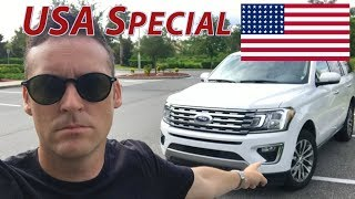 Picking Up a NEW 2018 Ford Expedition in the USA - THE NEW SUV KING