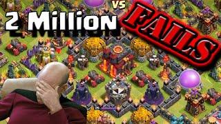 Clash of Clans | EPIC FARMING FAIL | 2 Million Resources? Nope!