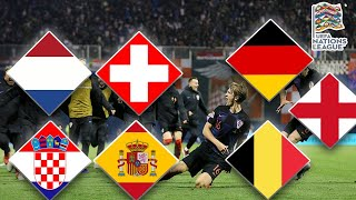 Croatia 3-2 Spain | BiH Promoted | UEFA Nations League Day 13 Recap