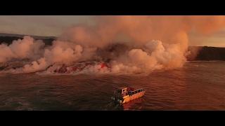 DJI Phantom 4 Pro e Pro+ - Immagini Aeree del vulcano Hawaiano