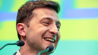 Зеленский выигрывает, Порошенко признаёт поражение   21.04.19