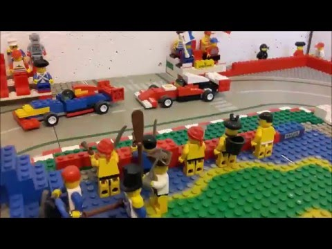 Lego F1 Chinese Grand Prix highlights 2016