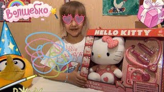 Vicki Mix играем в доктора unboxing set Hello kitty doctor Hello Kitty doctor