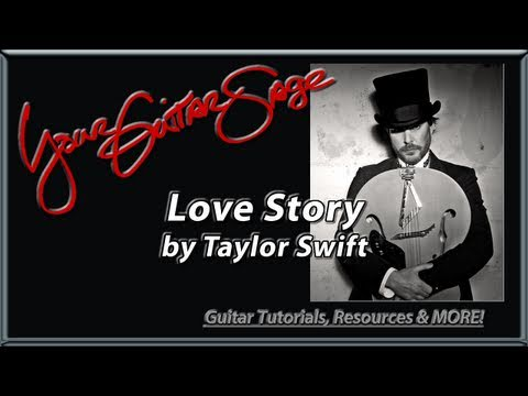 Love Story by Taylor Swift - Guitar Lesson Beginner Song