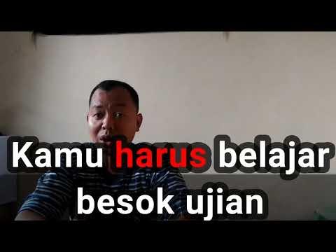 Индонезийский Язык : Harus