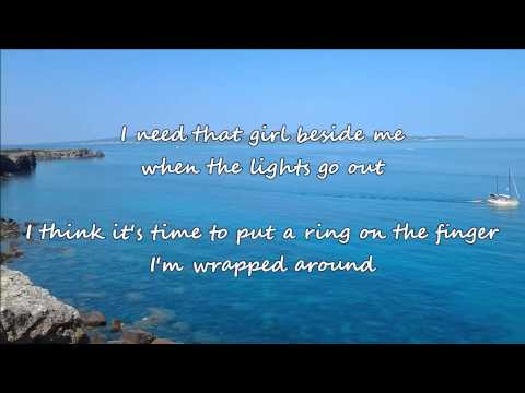 Brad Paisley - Wrapped Around (with lyrics)