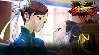 Street Fighters V: Character Story - Chun Li The Power of Belief (Street Fighter 5 PS4)