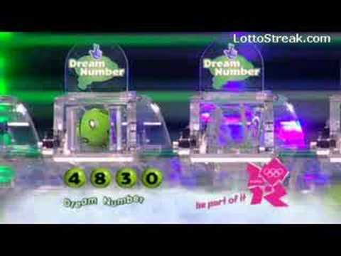 UK National Lottery Draw Wed 2008-04-09