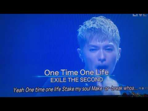 EXILE THE SECOND / One Time One Life <Music Video> from HiGH & LOW