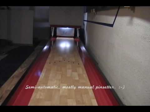 Basement Bowling Lane Project
