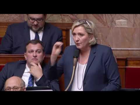Marine Le Pen à l'Assemblée Nationale : Mayotte vit notre futur !