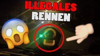 ILLEGALES RENNEN DURCH DIE STADT!!!!!