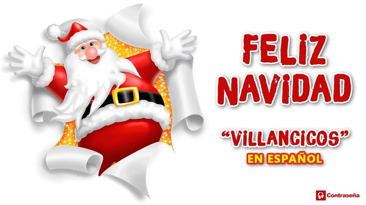 Blanca Navidad Villancico Letra Feliz Navidad White Christmas Canciones De Navidad Para Bailar Youtube