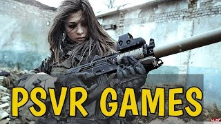 NEW Best PS VR Games | Upcoming Playstation VR Games !!!
