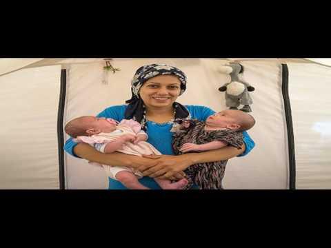 A Tease: refugees women woman