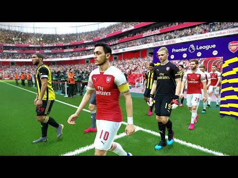 Watford vs Arsenal - Premier League 15 April 2019 Gameplay