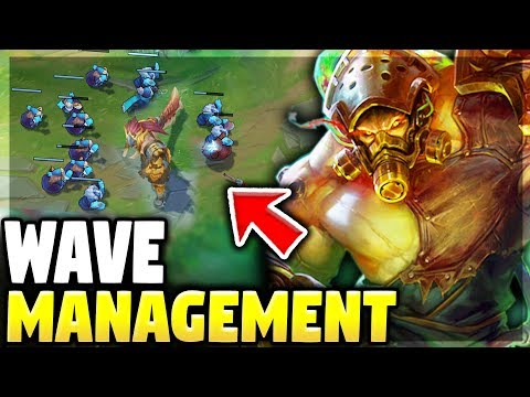THE IMPORTANCE OF WAVE MANAGEMENT | Showing How To Win With Tryndamere - League Of Legends