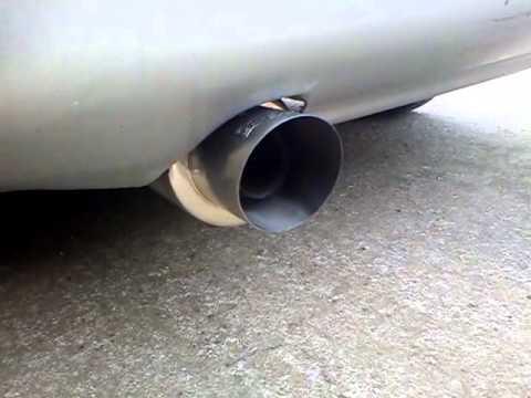daewoo lanos exhaust sound - YouTube