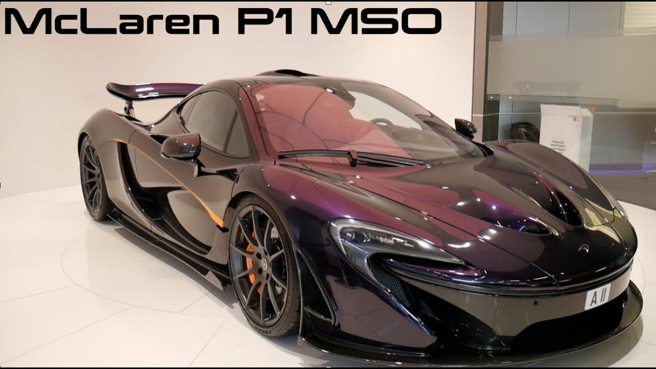 Mclaren P1 Cost >> McLaren P1 MSO (McLaren Special Operations) - YouTube