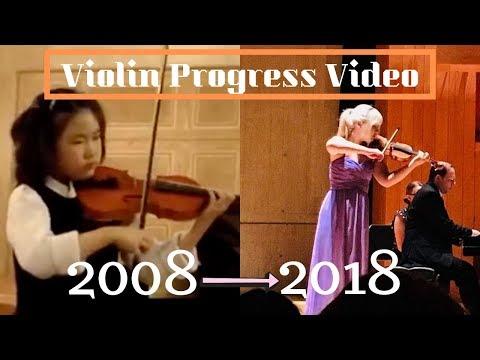 My 10 Years Violin Progress 🎻