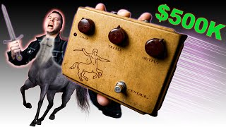 I Bought a $500,000 Guitar Pedal (the first Klon ever)