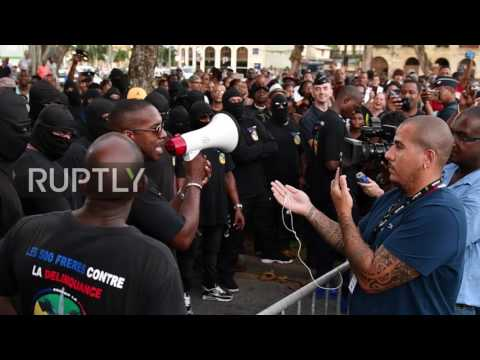French Guiana: Protest and unrest as French ministers arrive in Cayenne