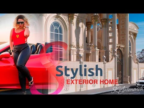 Exterior Design Services by Luxury Antonovich Design in Nigeria, Lagos, South Africa, Abuja!