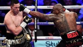 Joshep parker vs Dillian whyte (Full highlights)