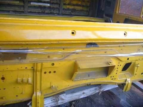КАРКАС КАБИНЫ КАМАЗ 5460, желтый, 2007г.в.