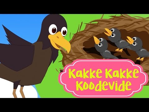 Kakke Kakke Koodevide കാക്കേ കാക്കേ കൂടെവിടെ | Super Hit Malayalam Kid Song - Kutti Paatugal