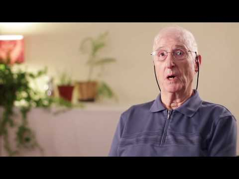 Mort discusses his wound care experience at NWH.
