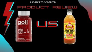 Product Review: Apple Cider Vinegar Versus | Which Is Better For Weight Loss? Braggs Or Goli Gummy?