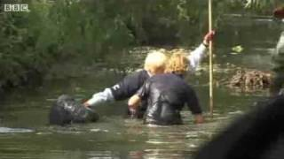 Boris Johnson Falls Into River