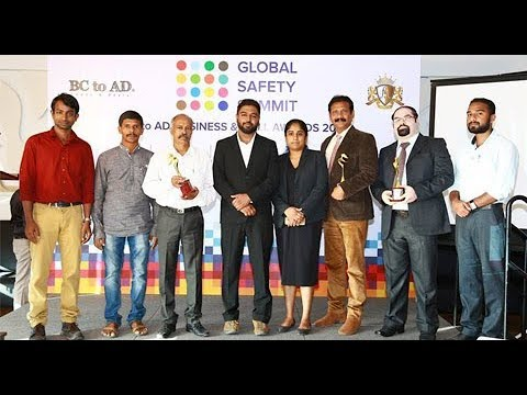 Global Safety Summit 2017 BC TO AD Business Awards 2017