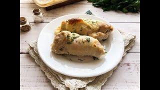 Рулетики из куриного филе с творожным сыром Рецепты быстро и вкусно с фото