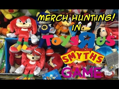 Toy Hunt In Toys R Us More Sonic 25th Sonic Boom And Nintendo Youtube