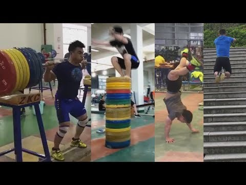 Asian Weightlifters Are Awesome