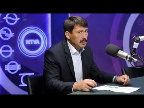 Áder János a klímaváltozásról 2017.06.09. - Kossuth Rádió 180 perc