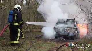 Vrouw beroofd in Epe; vluchtauto uitgebrand gevonden in Hattem - ©112Hattem.org