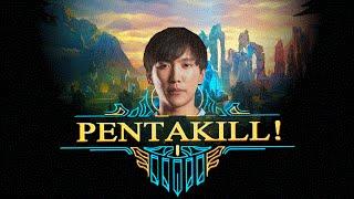 Best of Doublelift Insane Pentakill【League of Legends】