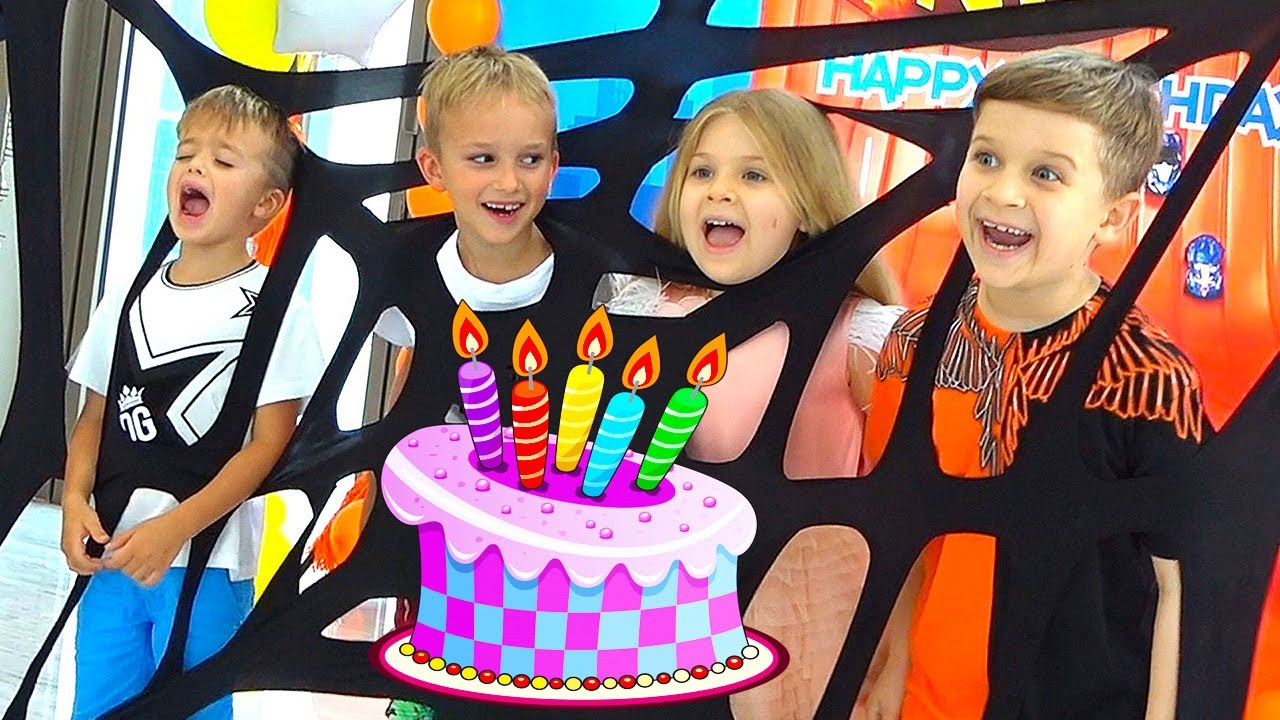 Download Diana and Roma have fun at Nikі's Birthday Party!